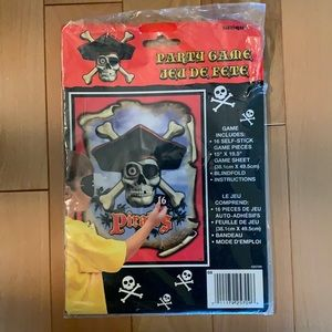 FREE Pirate Pin the Tail Party Game